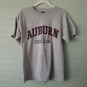 Graphic Tee, Auburn Cheerleading, Vintage, Small